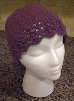 knit skull cap for breast cancer  6ccc64d47506