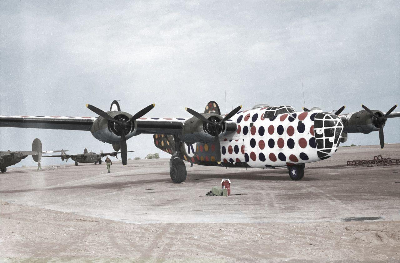 Consolidated B-24 Liberator. Lead ship.