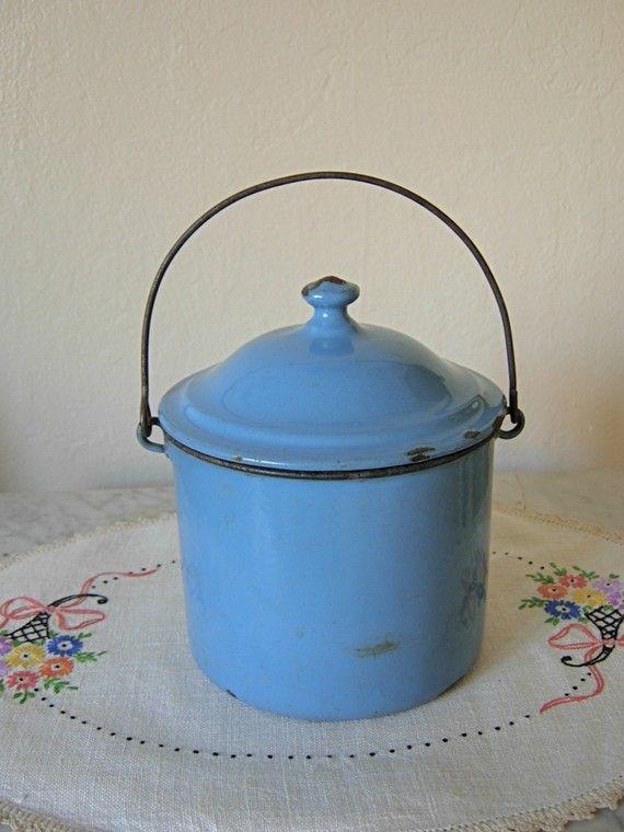 vintage berry bucket..beautiful color