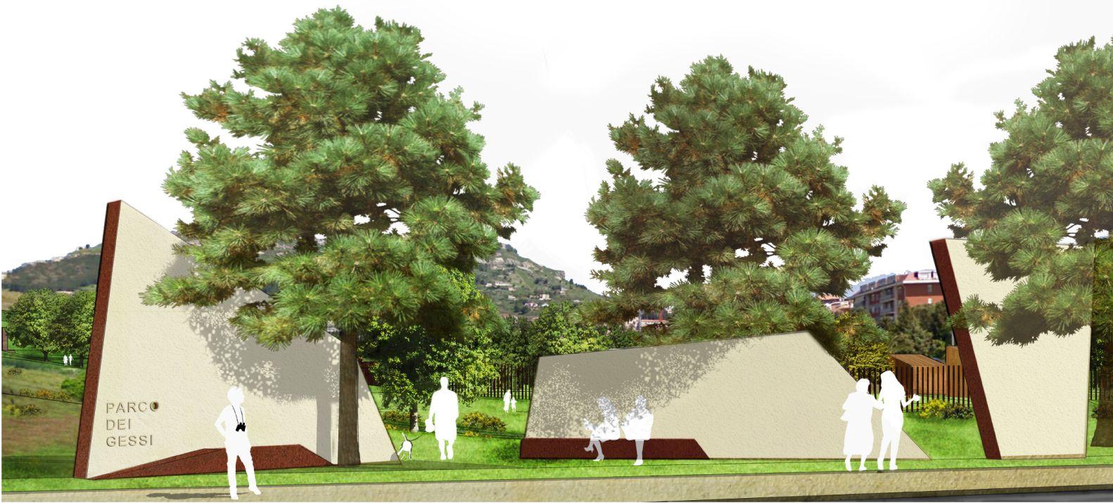 Parco verde urbano di Enna bassa