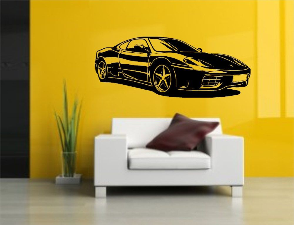 Excellent Car Wall Art Pictures Inspiration - Wall Art Design ...