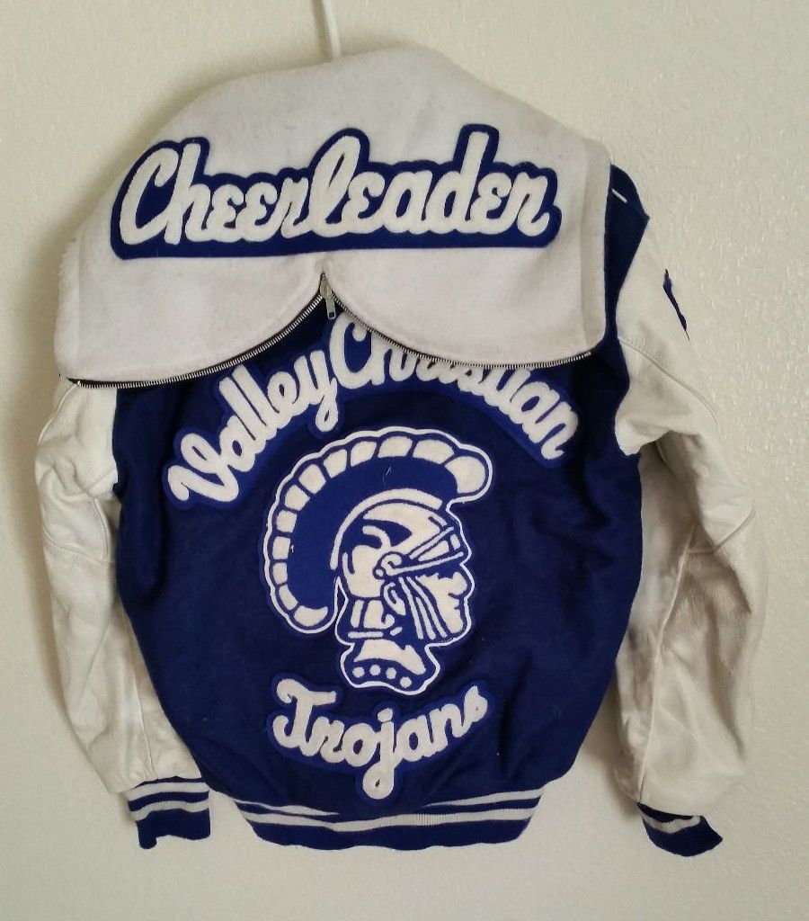 1989 Vintage High School Cheerleader Letterman Varsity ...