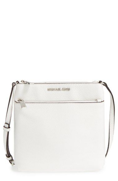 c29ab2d4a4fc MICHAEL Michael Kors 'Small Riley' Leather Crossbody Bag available at  #Nordstrom