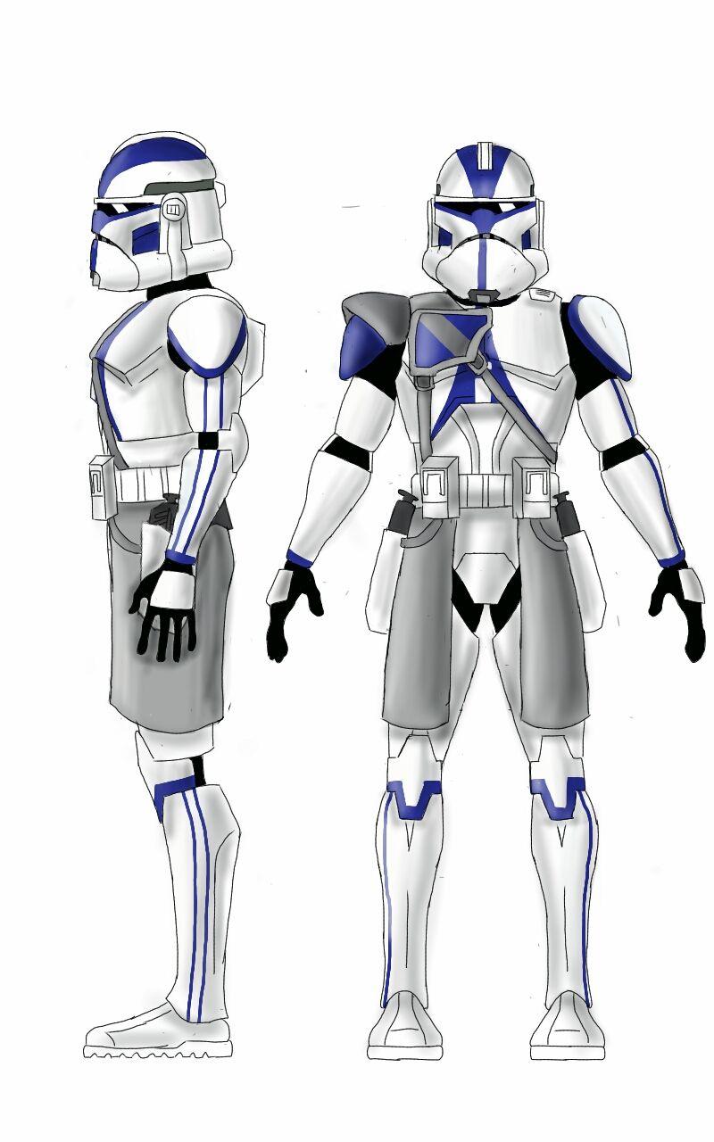 501st legion commander Viken by Smackadoodledoo | Star Wars Clone ...