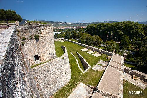 Recinto amurallado abaluartado y Ciudadela de Pamplona | Castillos ...