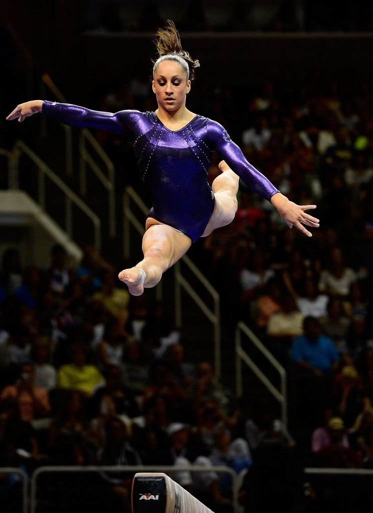 Jordyn Wieber (United States) on balance beam at the 2012 U.S. Olympic Trials
