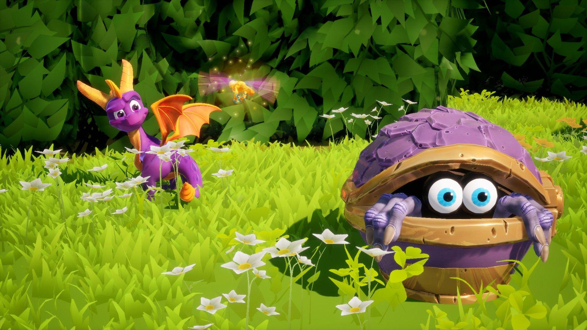 I don't blame you Spyro, that thing looks creepy  | Spyro