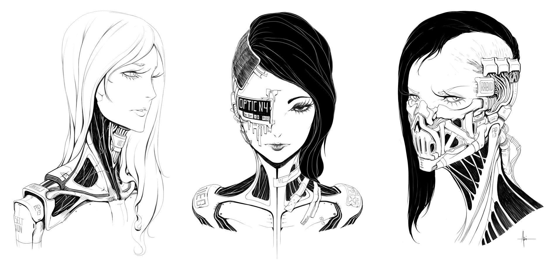 ArtStation Sketches, Adrian Dadich Creature