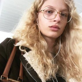 ffd8d2bcbd How to Wear Geek-Chic Glasses Like a Céline Model