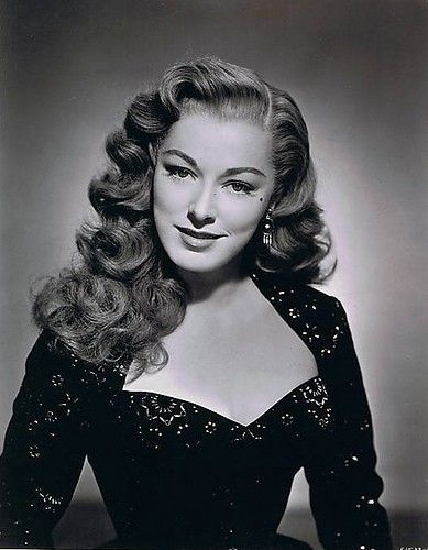 eleanor parker in 2018 old hollywood glamour pinterest hair