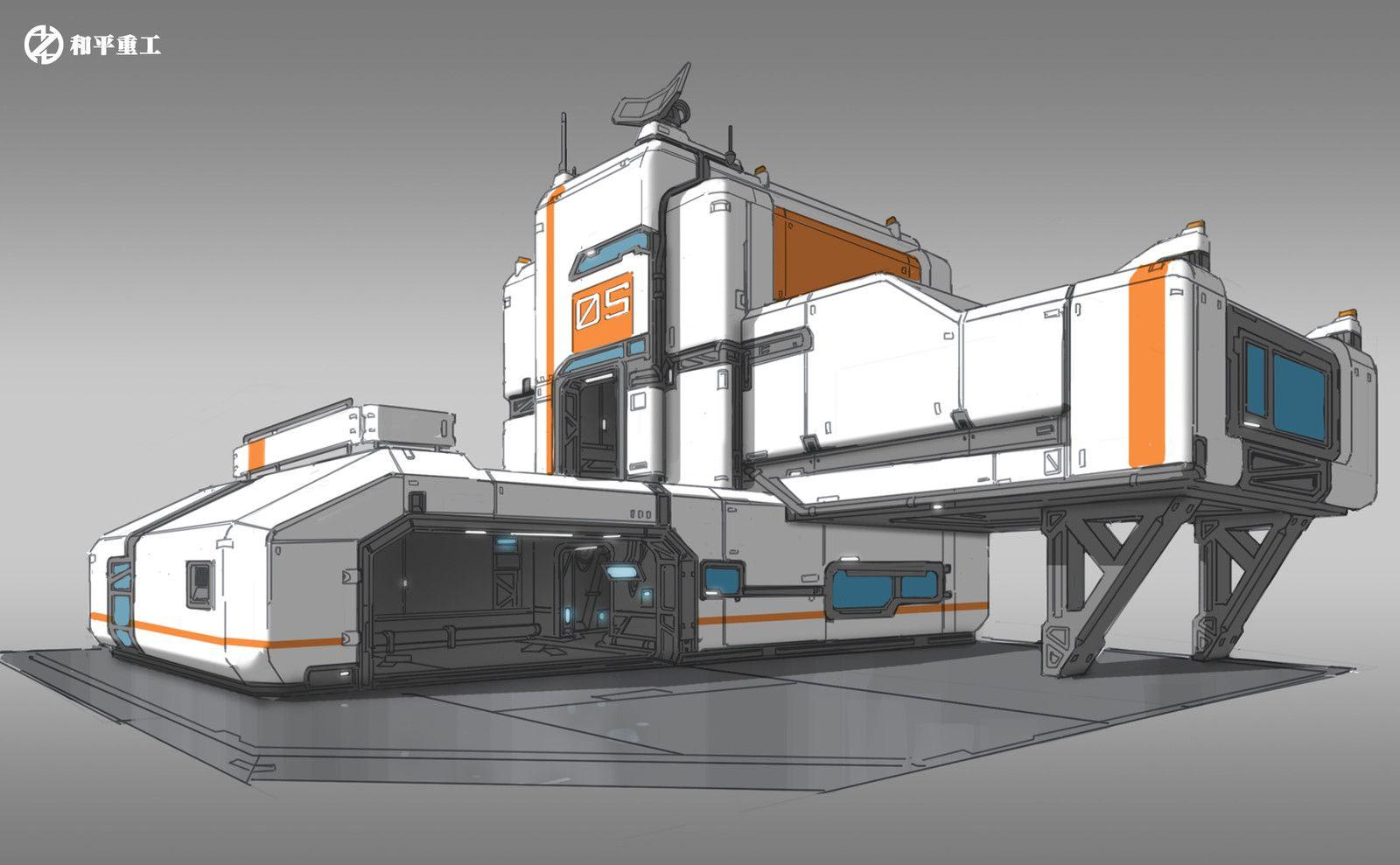 building design 01, Shantaram 05 on ArtStation at https