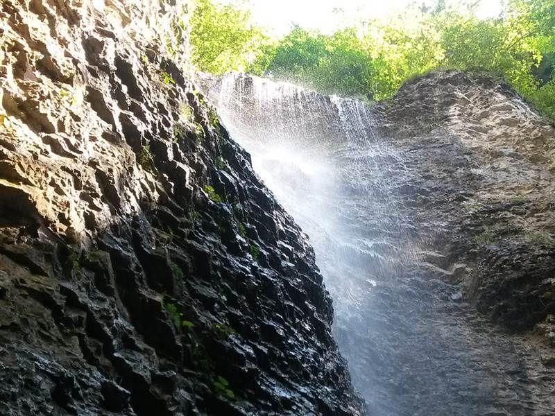 Brankovský vodopád Ľahko prístupný.Ružomberok - obec Podsuchá