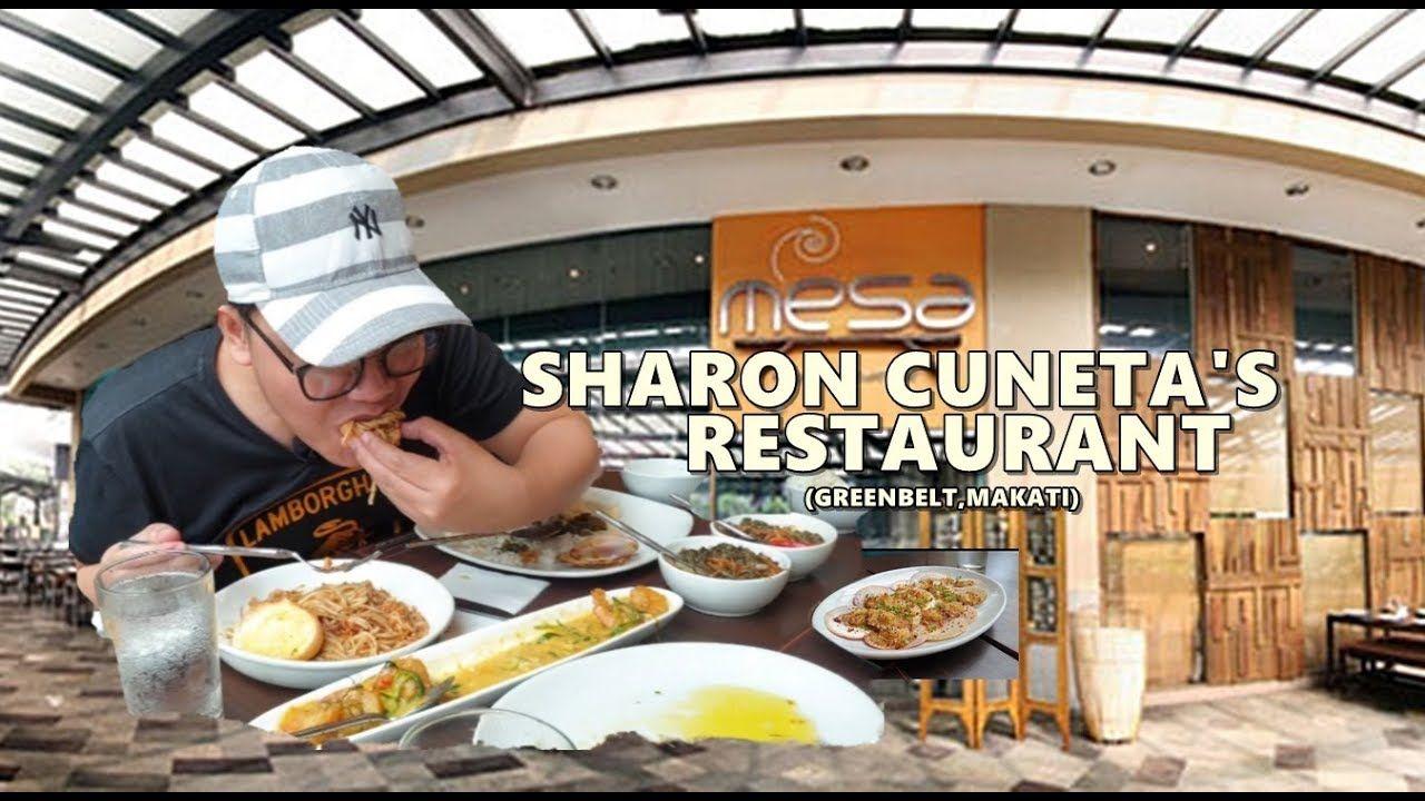 Cb V016 Mesa Sharon Cuneta S Restaurant Greenbelt Youtube Sharon Cuneta Greenbelt Sharon