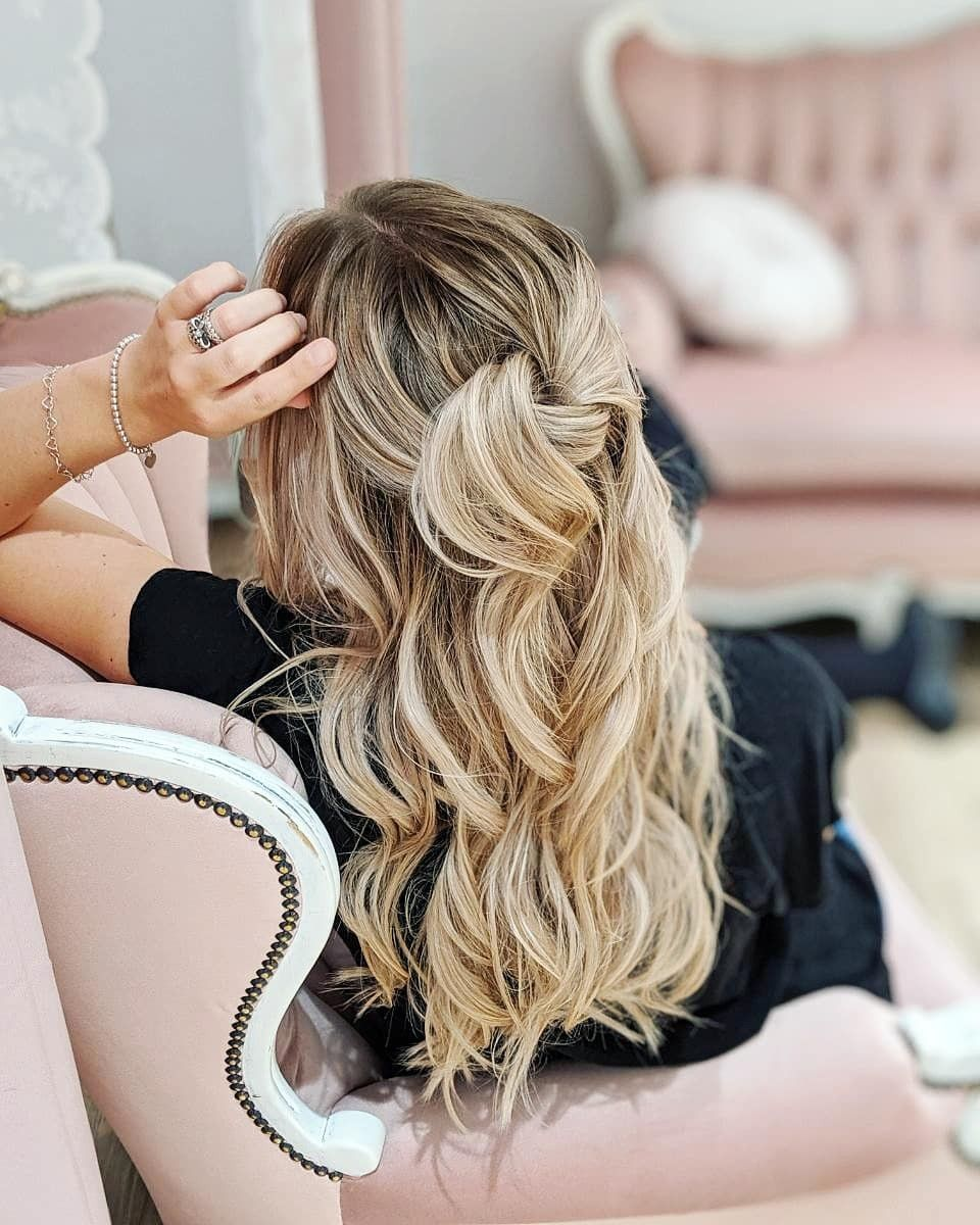 Das Frisch Vom Friseur Gefühl Locken Wellen Blonde