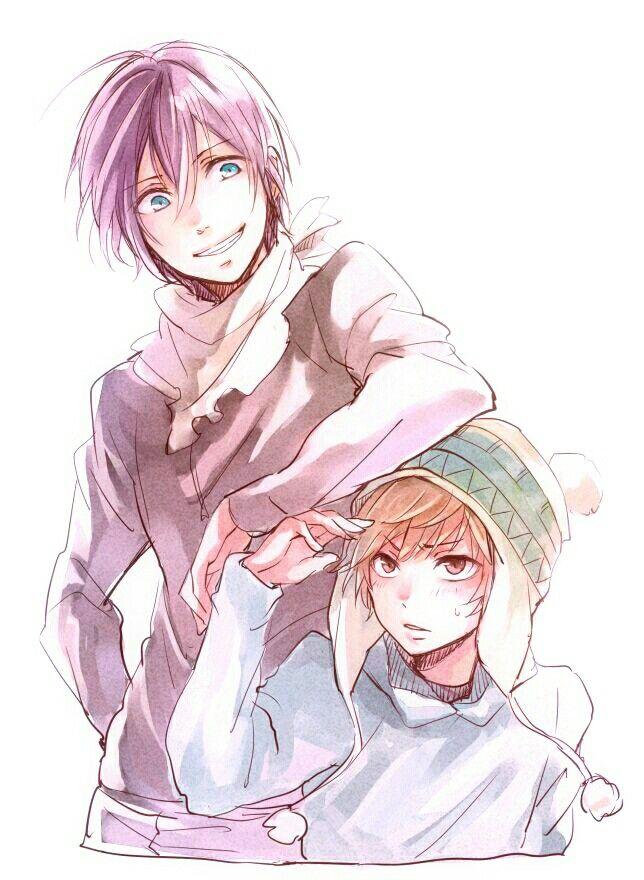Yato e Yukine Noragami