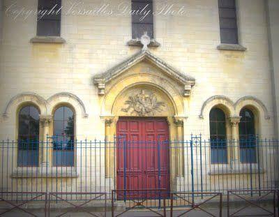 The chapel of Saint-Jean-Hulst private Catholic school, Versailles