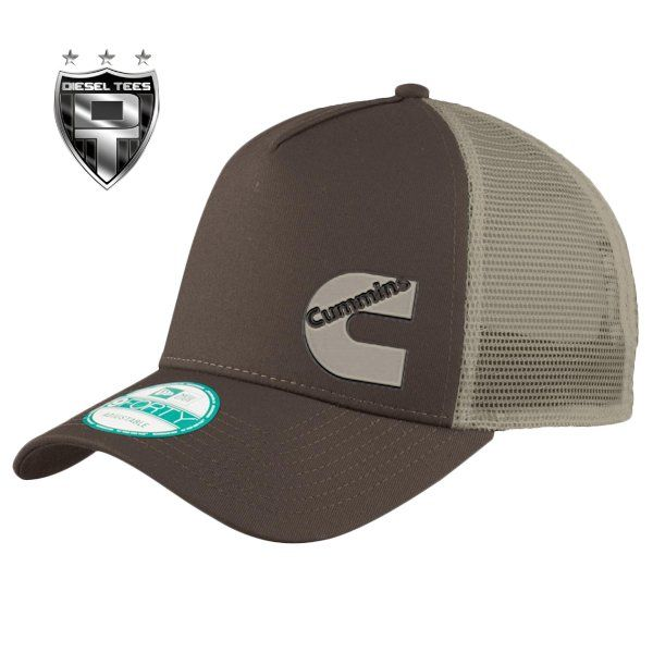 0de5cf02c CUMMINS DIESEL Brown and Tan SNAPBACK TRUCKER HAT | Cummins Diesel ...