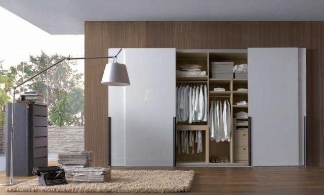 Garde Robe 23 Exemples D Elegance Et Modernite Garde Robe Blanc