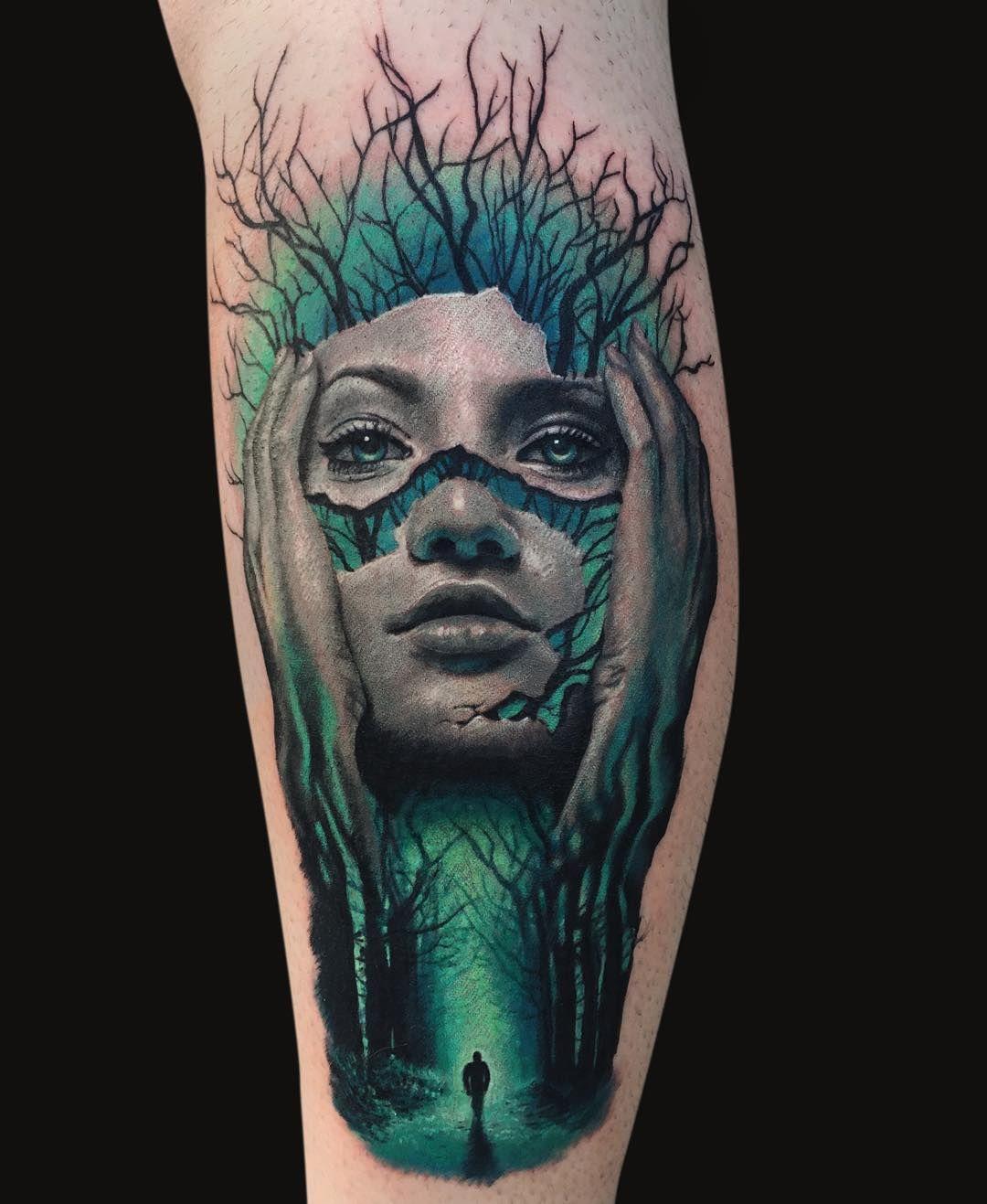 Wood Tattoo 3d Tattoo More
