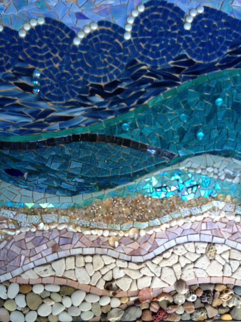 Mosaic Complete Now The Grout Gardens Beautiful And
