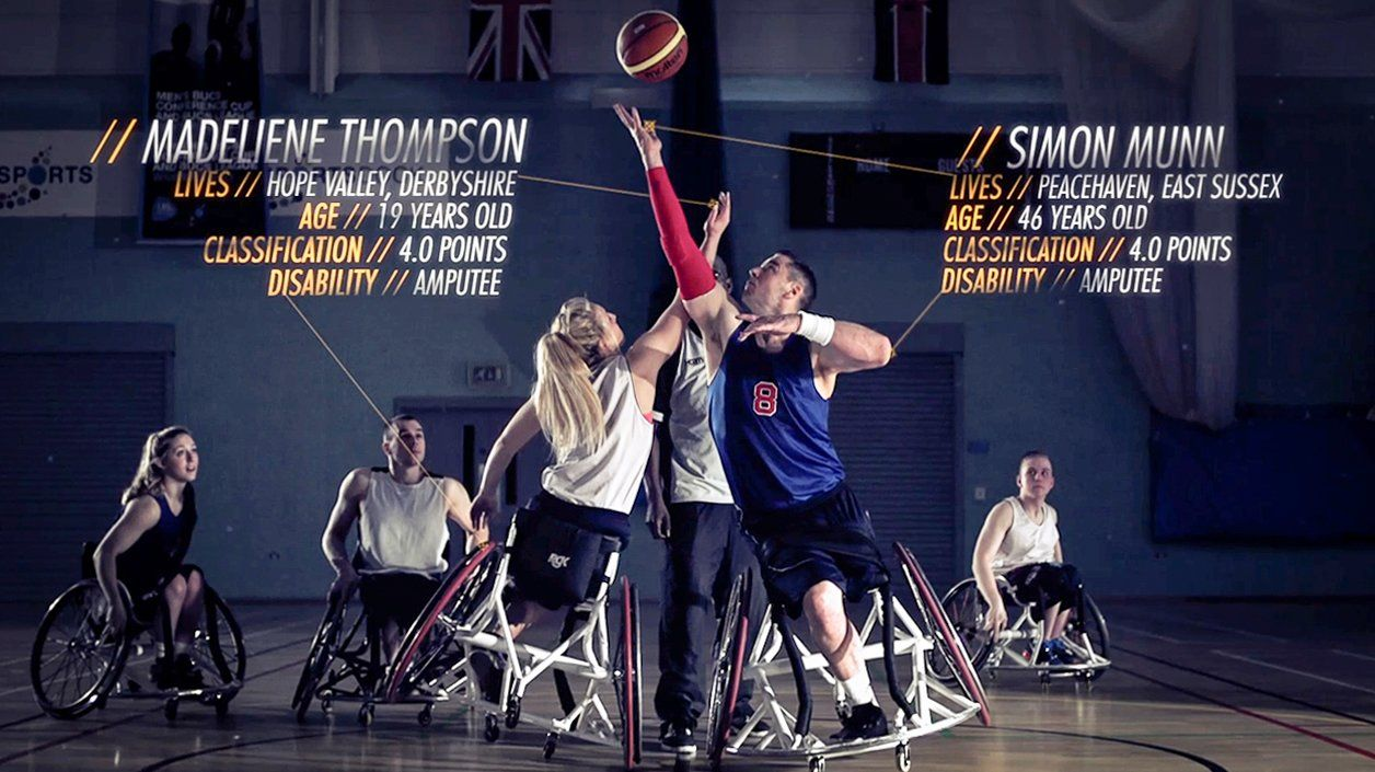 Wheelchair Basketball Promo Video production company