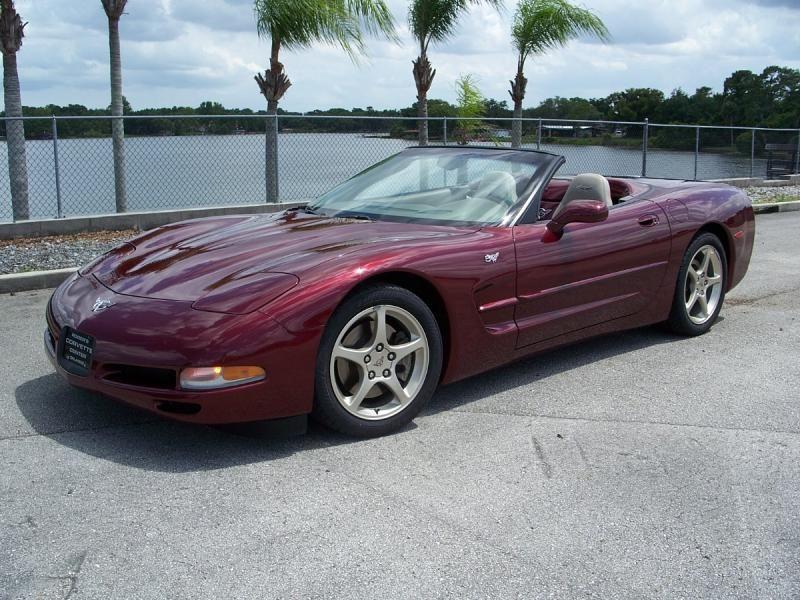 2003 Corvette Convertible For Sale In Florida 2003 50th Anniversary Conv 15 000 Miles Chevy Corvette For Sale Corvette Convertible Corvette