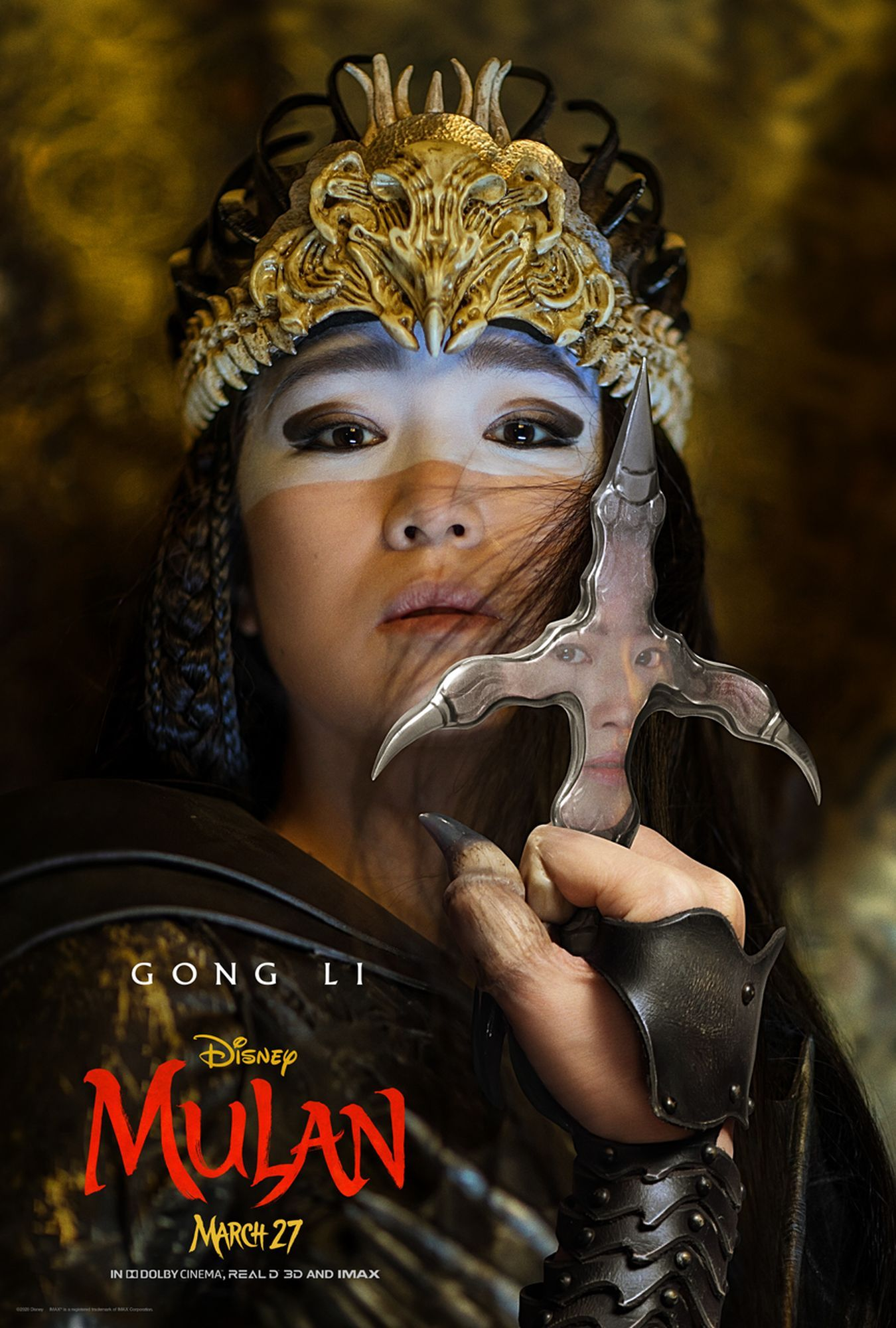 Mulan Cast Is Introduced In A Sharp Set Of New Character Posters In 2020 Mulan Movie Watch Mulan Free Movies Online