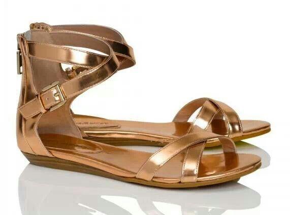 94057ef73660e Rebecca minkoff · Rebecca Minkoff · Rose Gold SandalsDesigner ...