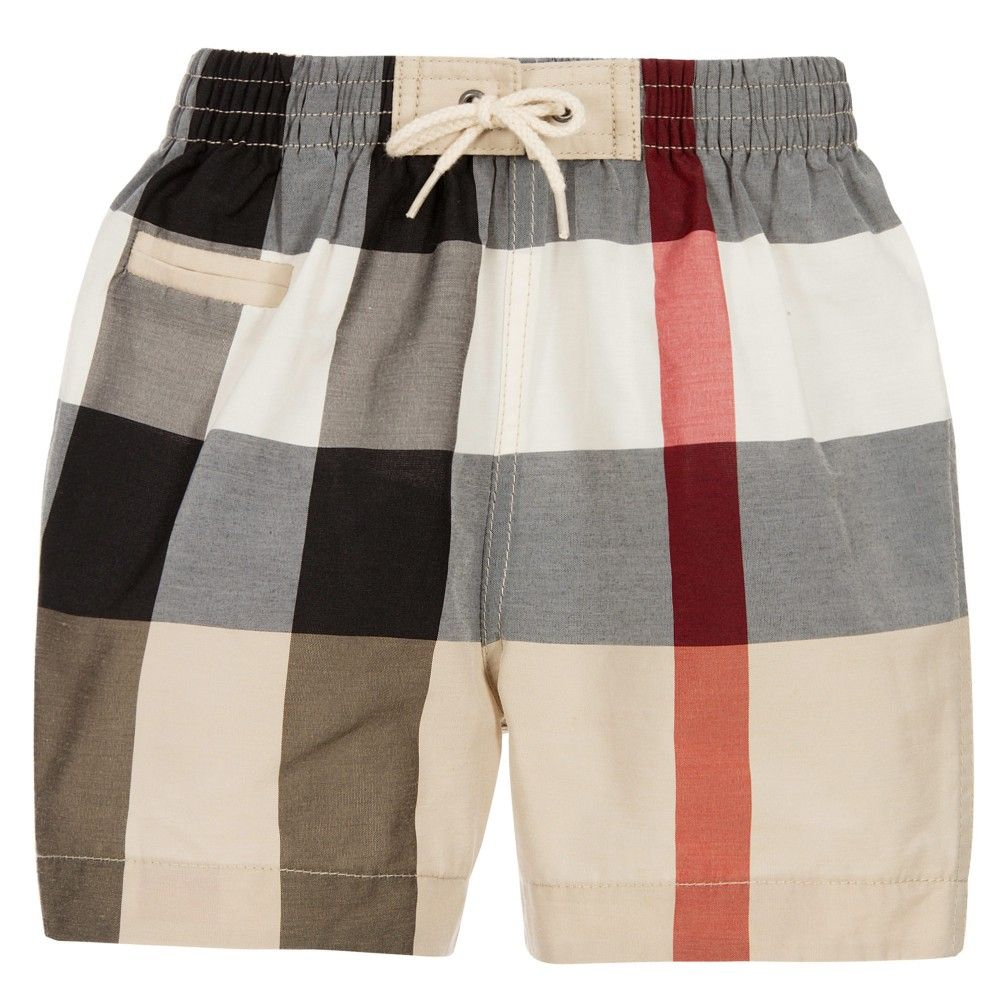 boys burberry shorts