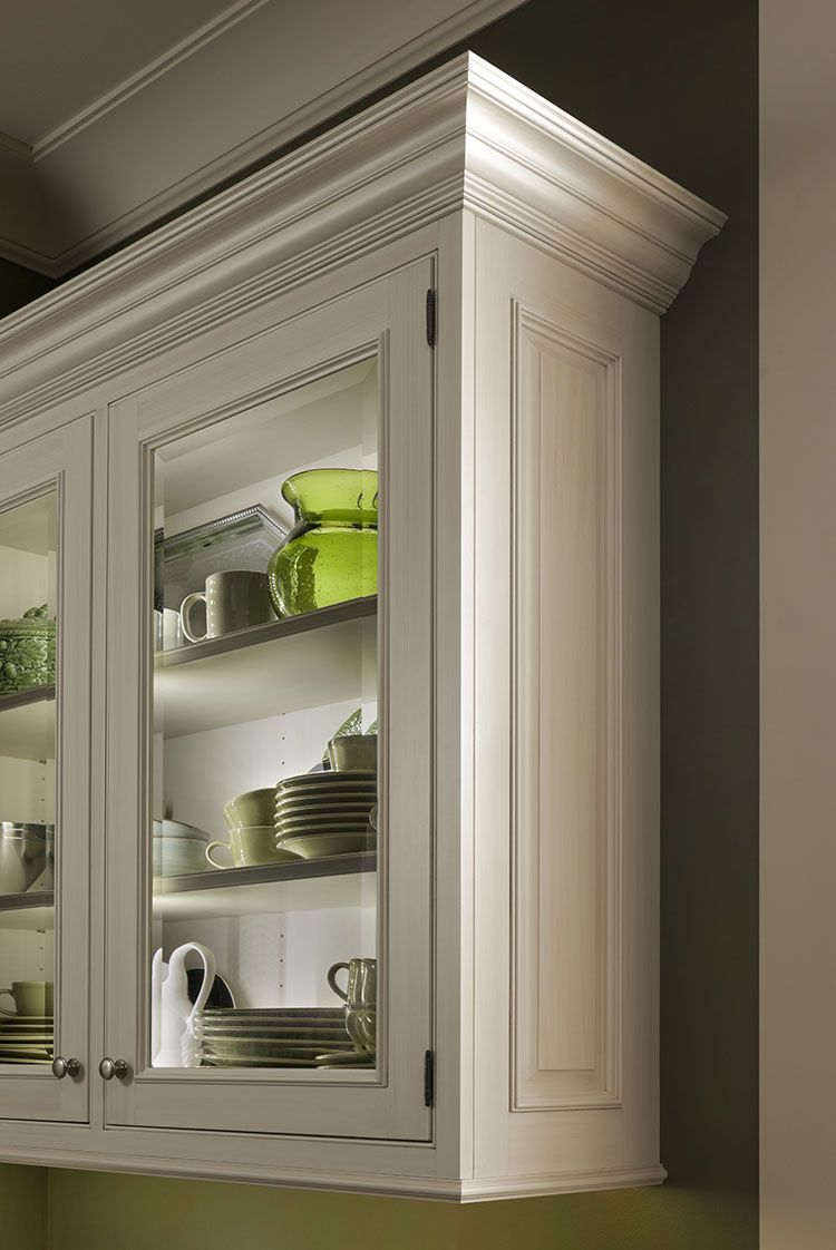 Trending in 2016: Wall cabinets with glass door inserts. #NKBA ...