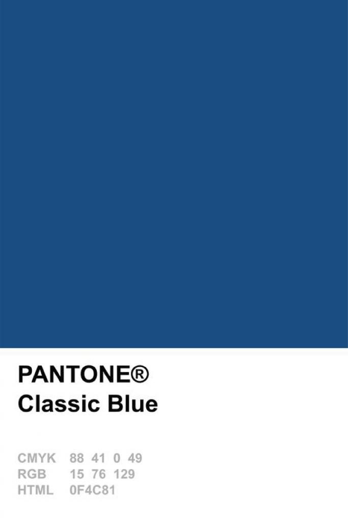 Fashion x decor: Classic blue - Pantone 2020! - Casa das Amigas