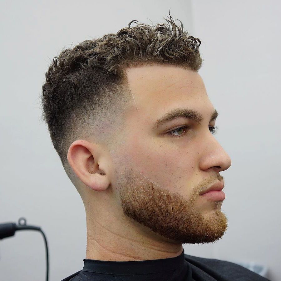 Mens curly haircut  new menus hairstyles for curly hair