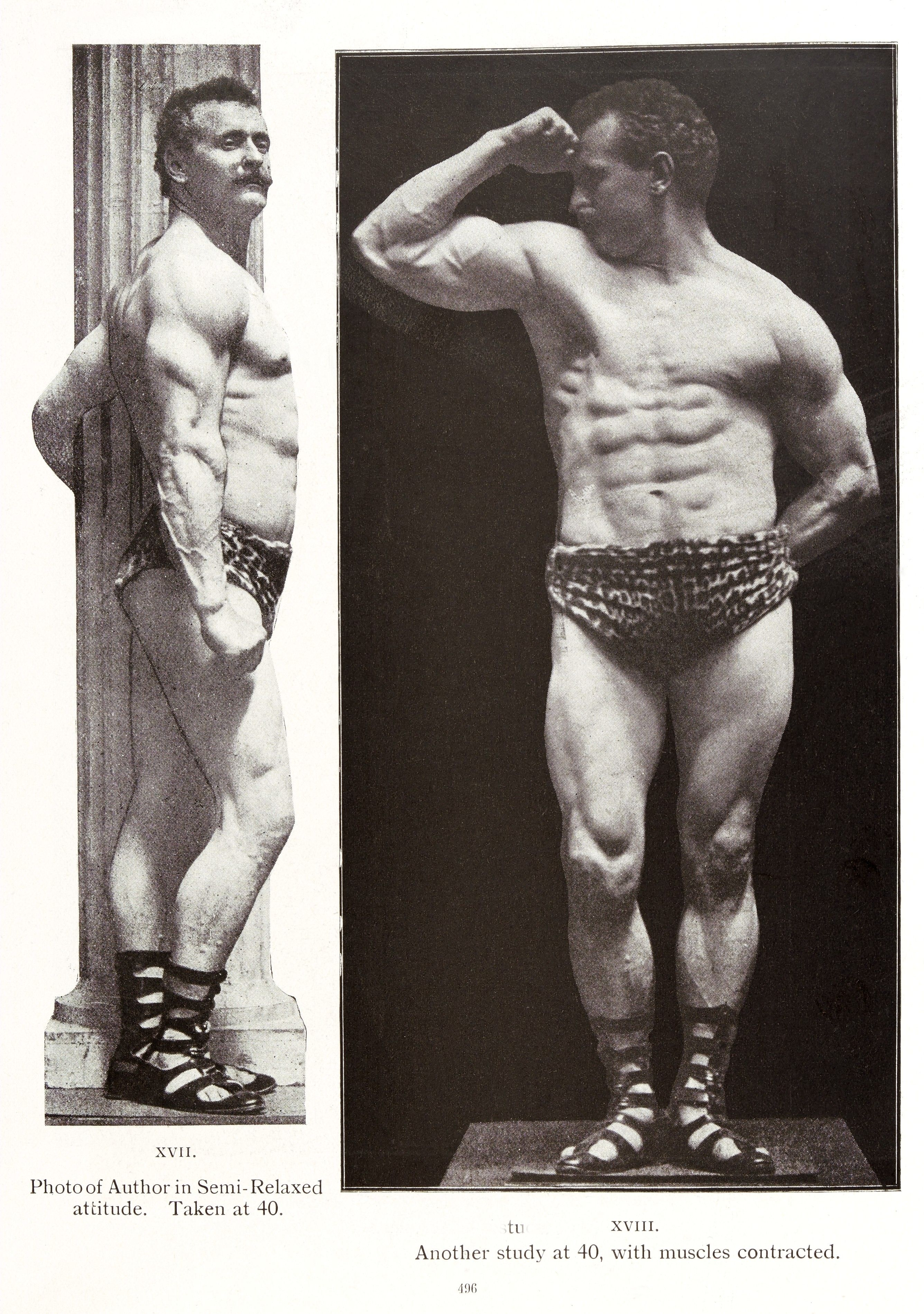 Eugen Sandow the father of modern bodybuilding (1902) | Old School ...