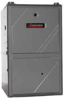 Amvm96 Gas Furnace Up To 96 Afue Performance Multi Position Modulating Variable Speed Comfortnet Communi Amana Furnace Air Conditioner Repair Gas Furnace
