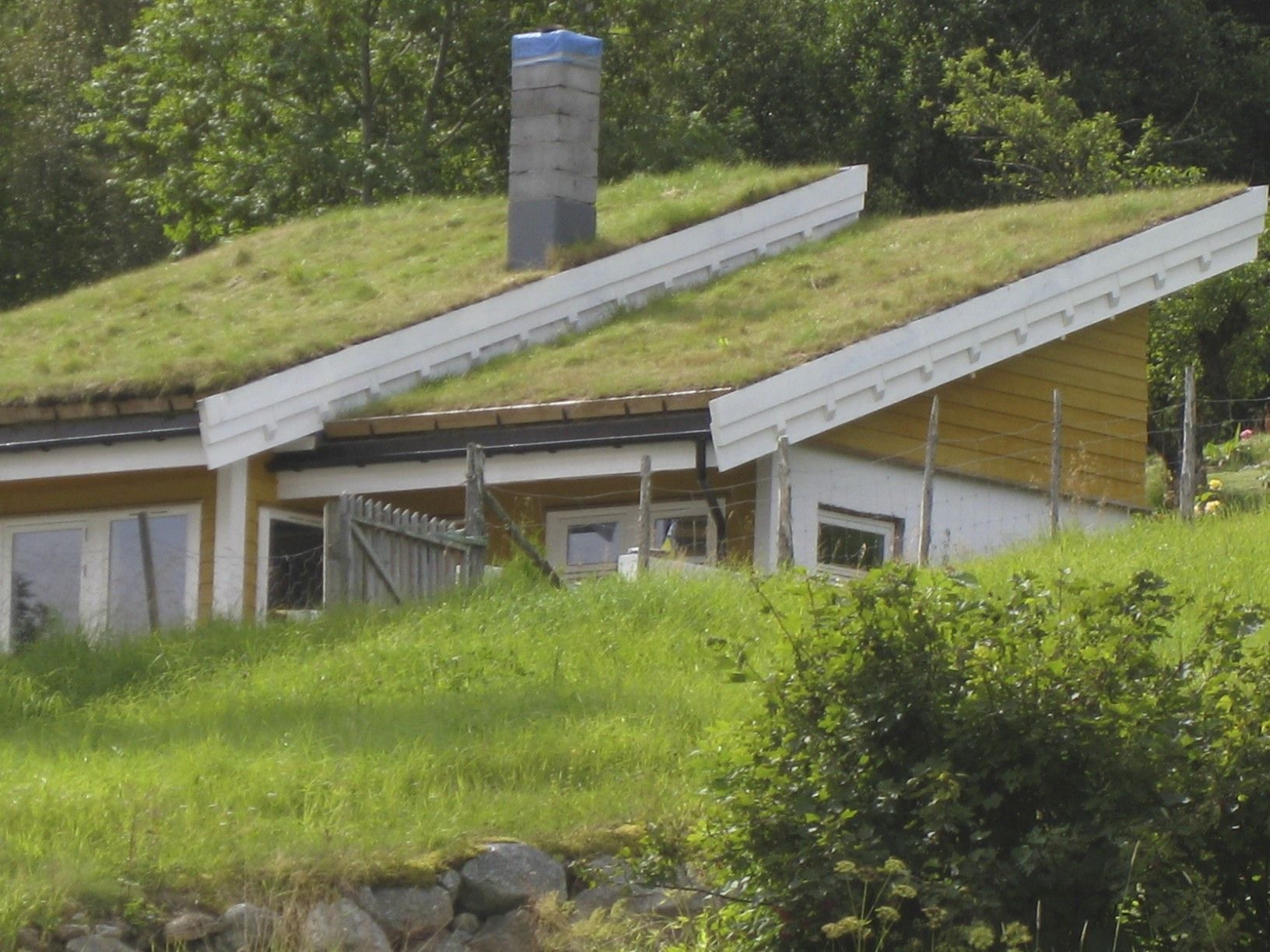 An Old Sod Roof In Norway Green Roofs Have Been Used For A Thousand Years In This Country Green Roof Sod Roof Architecture