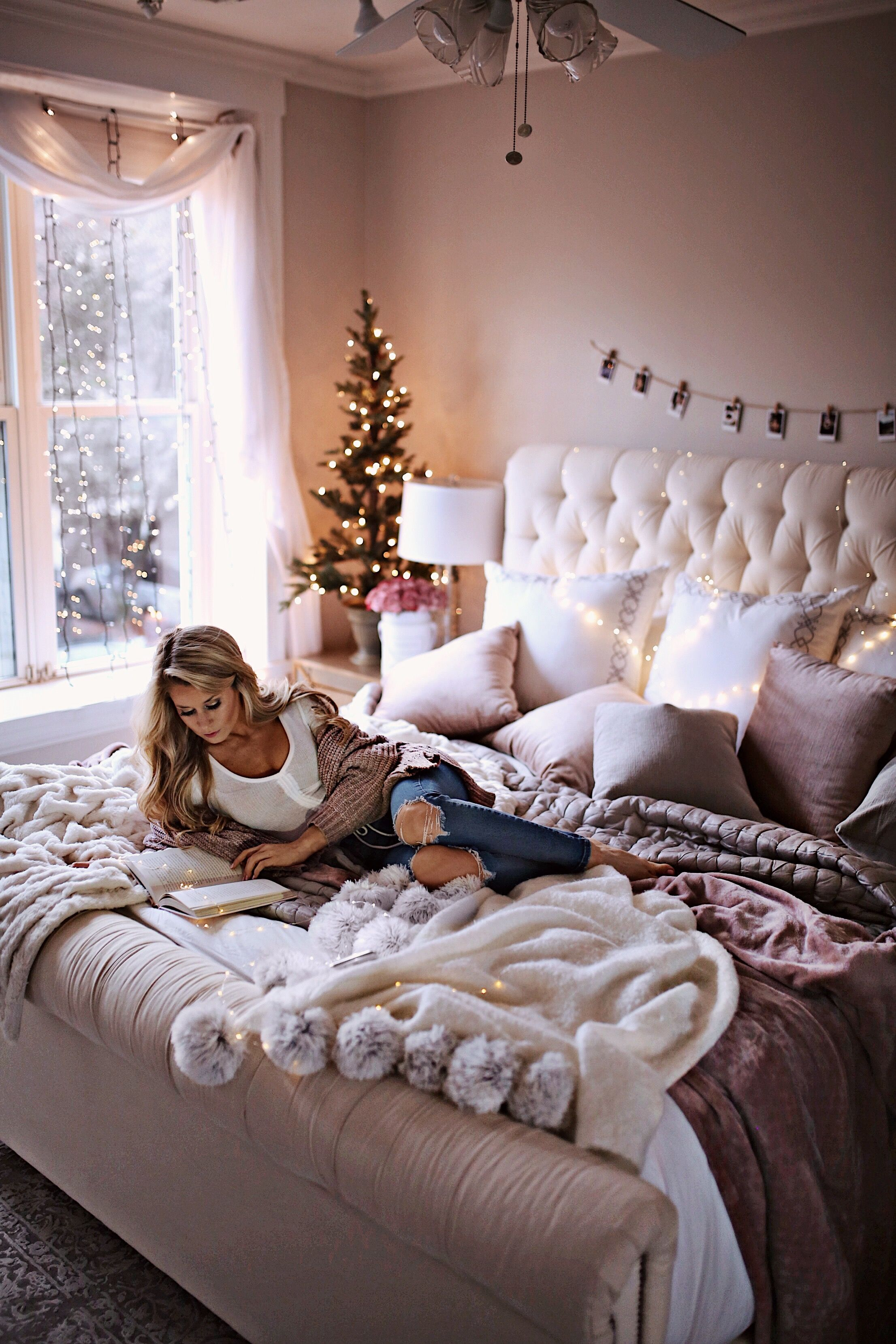 7 Holiday Decor Ideas for Your Bedroom | Bedrooms, Holidays and ...