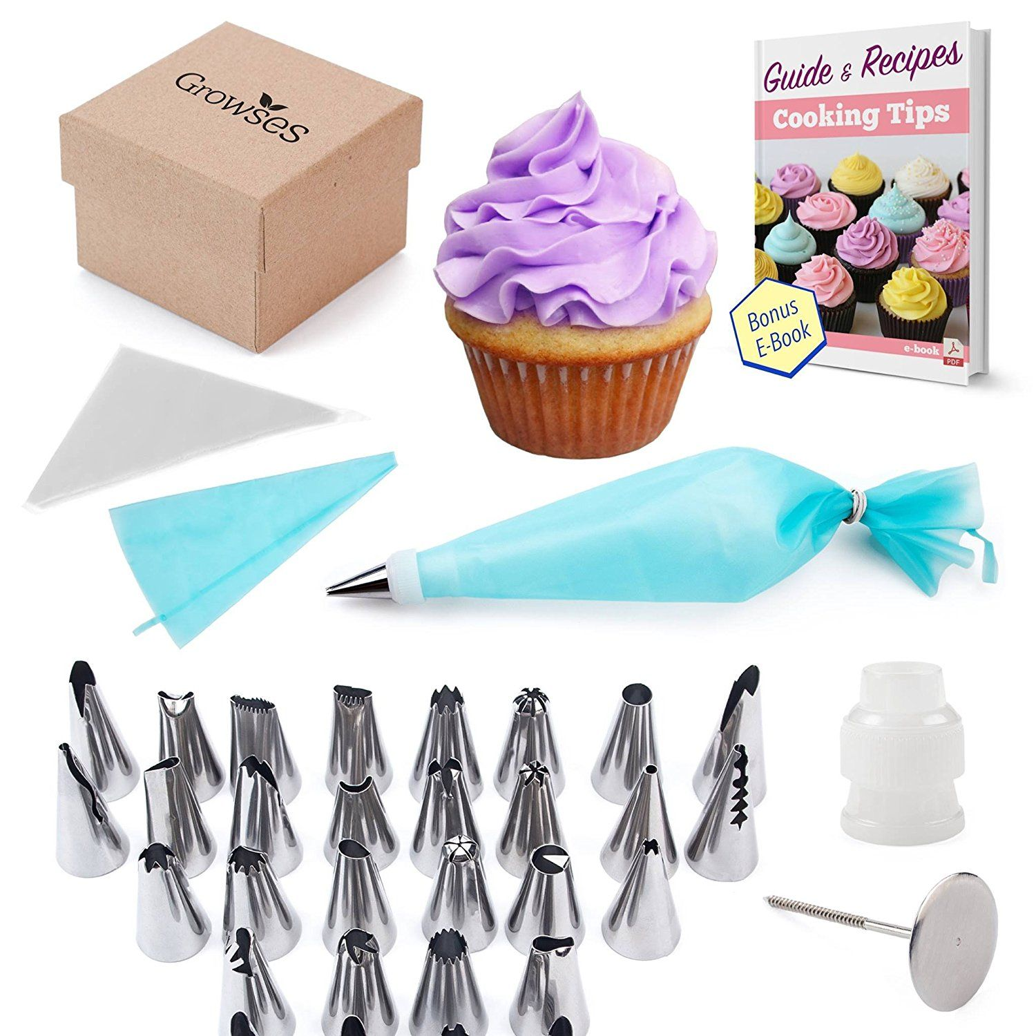 Cake decorating supplies kit 56in1 cake supplies nozzles