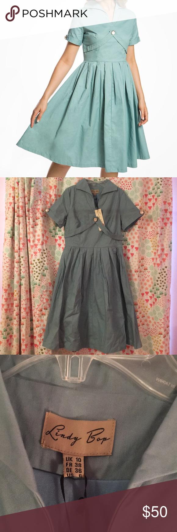 2cbcbc1e2ff96 BNWT 1950s Lindy Bop Claudette Dress BRAND NEW WITH TAGS! Lindy Bop  Claudette dress in