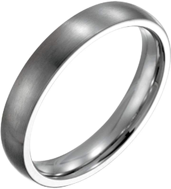 Steel By Design Men S 4mm Brushed Ring Qvc Com Brushed Ring Steel By Design Rings