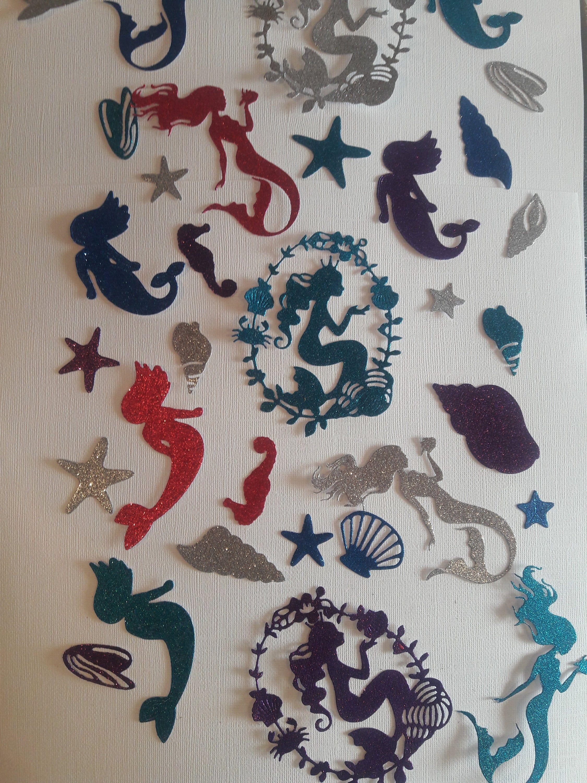 Under the sea mermaid theme Confetti
