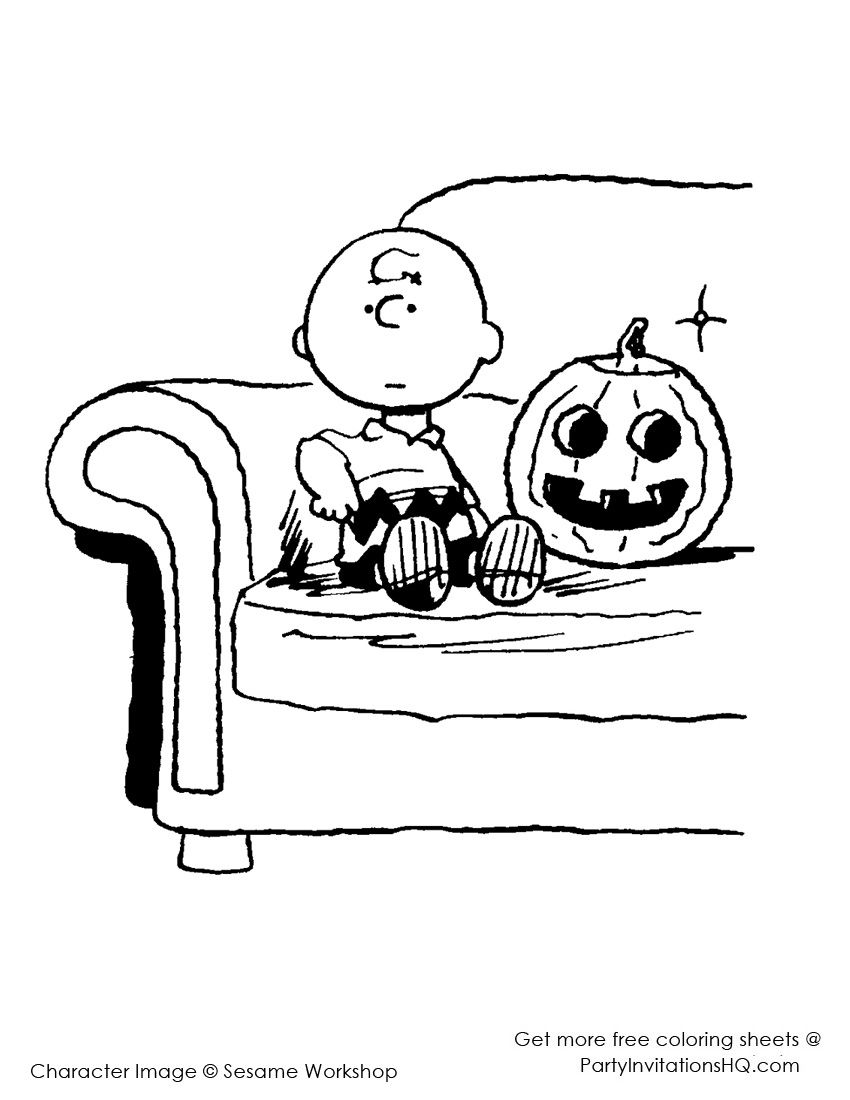 Charlie brown hallowen