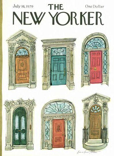 The New Yorker Digital Edition Jul 16 1979 ドア イラスト