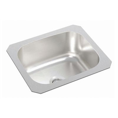 Wessan Bar Sink Wesp700 Single Bowl Undermount 12 In X 14 In X 6 In Sink Bar Sink Single Bowl Sink