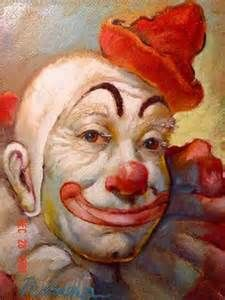 famous clown painting - Bing Images