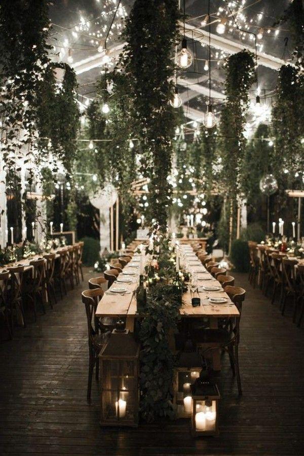 Photo of 18 impresionantes formas de decorar tu boda con luces y vegetación – EmmaLovesWeddings