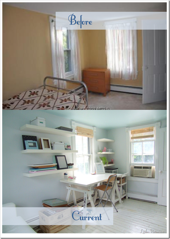 Our small office guest room makeover is complete (almost
