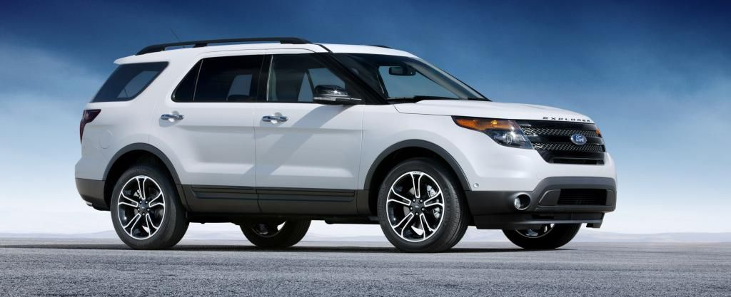 Ten Surprising OffRoad Vehicles 6. Ford Explorer Eco