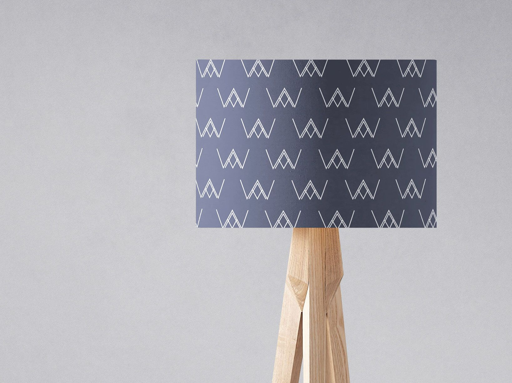 Blue lampshade navy light shade scandi home decor blue home blue lampshade navy light shade scandi home decor blue home accessories drum aloadofball