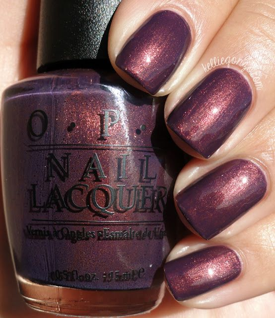 OPI Peel Me a Gobi Grape | nails | Pinterest | Esmalte y Manicuras