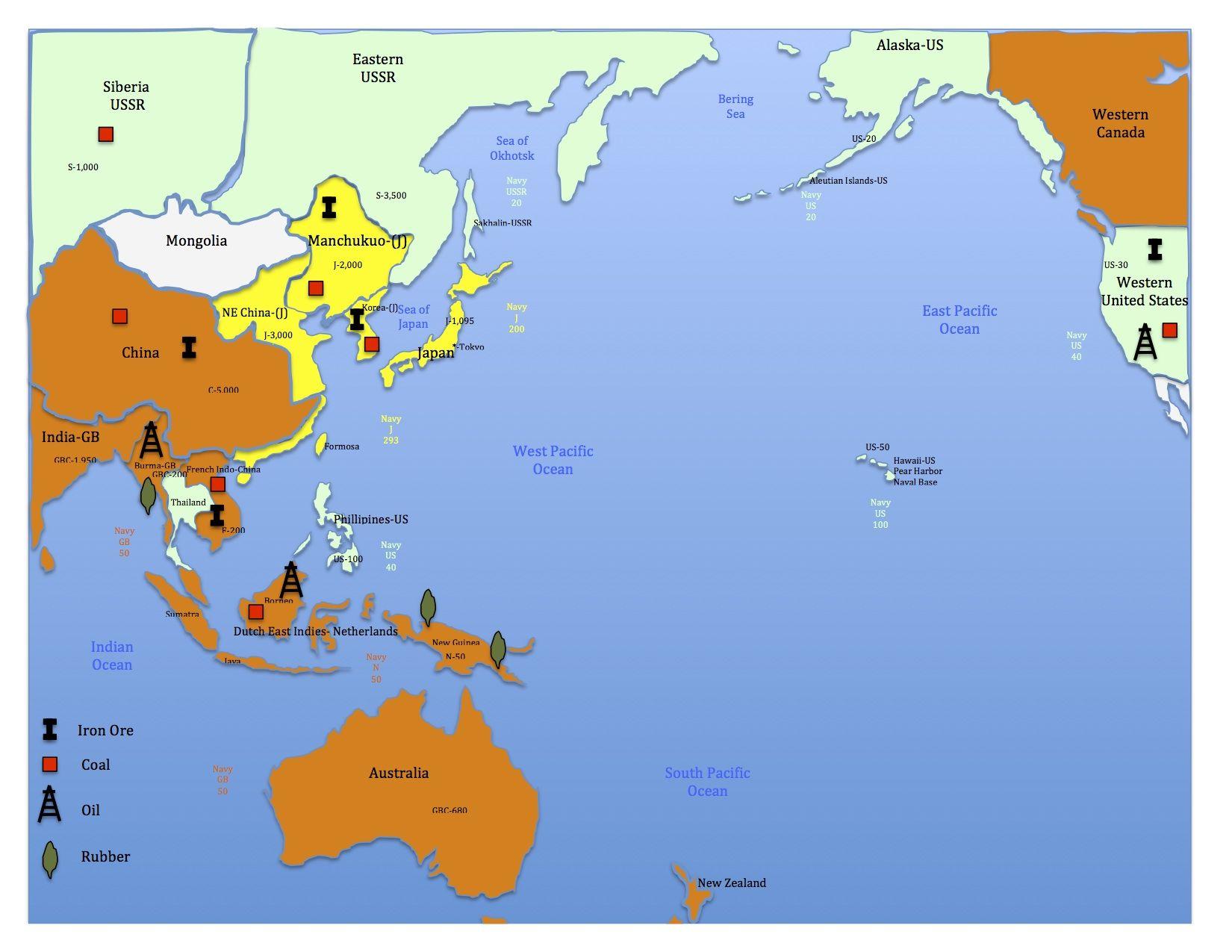 The world war two simulation has two maps a european and an asian the world war two simulation has two maps a european and an asian map gumiabroncs Images